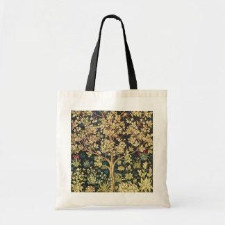William Morris Tree Of Life Floral Vintage Art Tote Bag