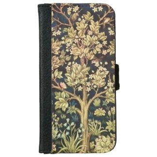 William Morris Tree Of Life Floral Vintage iPhone 6 Wallet Case
