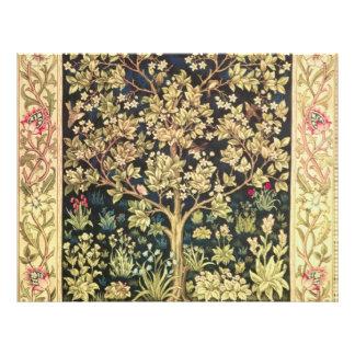 William Morris Tree Of Life Flyer Design