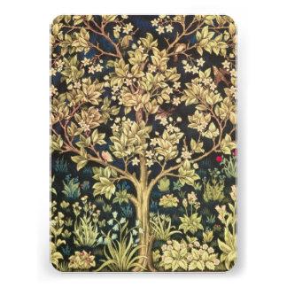 William Morris Tree Of Life Personalized Invitations