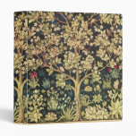 William Morris Tree Of Life Vintage Pre-raphaelite 3 Ring Binder at Zazzle