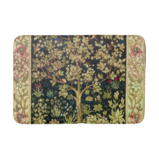 William Morris Tree Of Life Vintage Pre-Raphaelite Bathroom Mat
