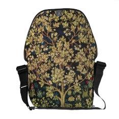 William Morris Tree Of Life Vintage Pre-raphaelite Courier Bag at Zazzle