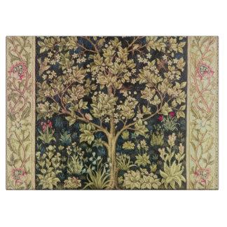 William Morris Tree Of Life Vintage Pre-Raphaelite Cutting Board