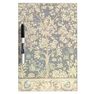 William Morris Tree Of Life Vintage Pre-Raphaelite Dry Erase Board