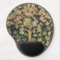 William Morris Tree Of Life Vintage Pre-Raphaelite Gel Mouse Pad