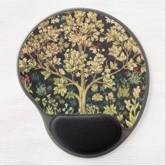 William Morris Tree Of Life Vintage Pre-Raphaelite Gel Mouse Mats