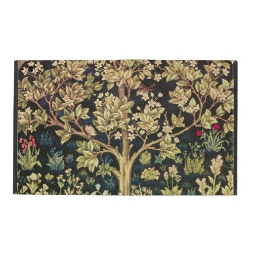 William Morris Tree Of Life Vintage Pre-Raphaelite iPad Cover