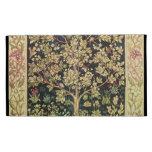 William Morris Tree Of Life Vintage Pre-Raphaelite iPad Case
