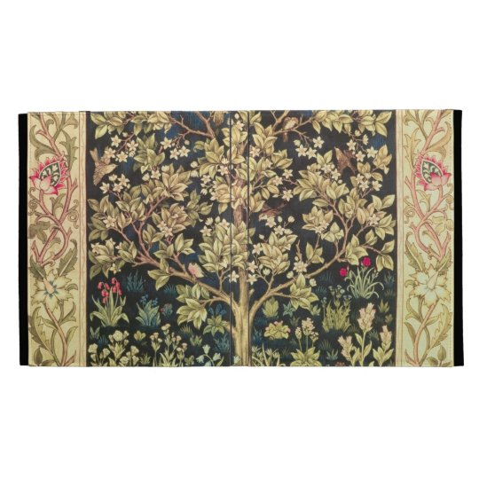 William Morris Tree Of Life Vintage Pre-Raphaelite iPad Case