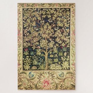 William Morris Tree Of Life Vintage Pre-Raphaelite Jigsaw Puzzle