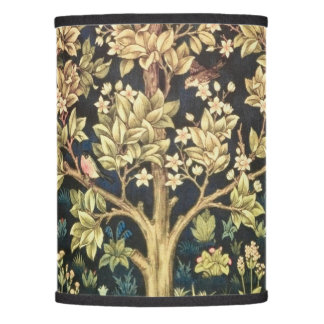 William Morris Tree Of Life Vintage Pre-Raphaelite Lamp Shade