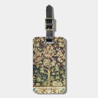 William Morris Tree Of Life Vintage Pre-Raphaelite Bag Tags