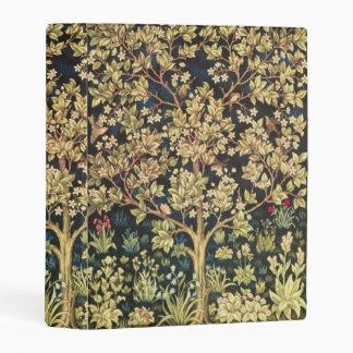 William Morris Tree Of Life Vintage Pre-Raphaelite Mini Binder