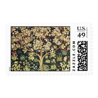 William Morris Tree Of Life Vintage Pre-Raphaelite Postage