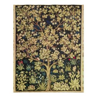 William Morris Tree Of Life Vintage Pre-Raphaelite Poster