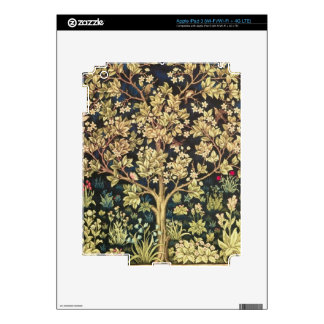 William Morris Tree Of Life Vintage Pre-Raphaelite iPad 3 Skin