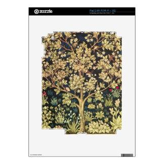 William Morris Tree Of Life Vintage Pre-Raphaelite Skins For iPad 2