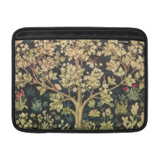 William Morris Tree Of Life Vintage Pre-Raphaelite Sleeve For MacBook Air at Zazzle