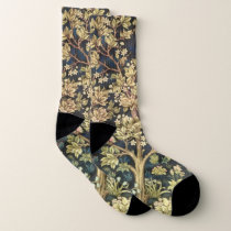 William Morris Tree Of Life Vintage Pre-Raphaelite Socks