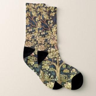 William Morris Tree Of Life Vintage Pre-Raphaelite Socks