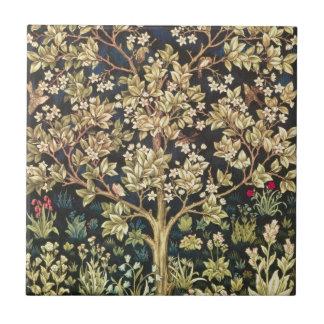 William Morris Tree Of Life Vintage Pre-Raphaelite Tile