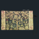 """William Morris Tree Of Life Vintage Pre-Raphaelite Wristlet<br><div class=""""desc"""">William Morris Tree Of Life Floral Vintage Art William Morris was an English textile designer, artist, writer, and socialist associated with the Pre-Raphaelite Brotherhood and British Arts and Crafts Movement. He founded a design firm in partnership with the artist Edward Burne-Jones, and the poet and artist Dante Gabriel Rossetti which...</div>"""