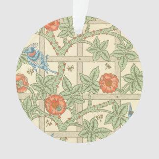 William Morris Trellis Pattern Ornament