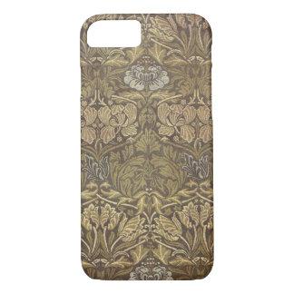 William Morris Tulip and Rose Pattern iPhone 7 Case