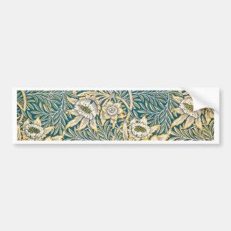 William Morris Tulip and Willow Bumper Sticker
