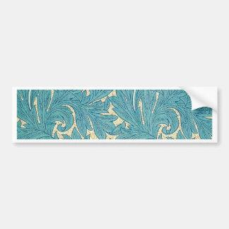 William Morris Tulip Bumper Sticker