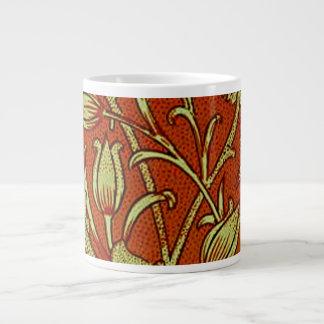 William Morris Tulip Floral Giant Coffee Mug