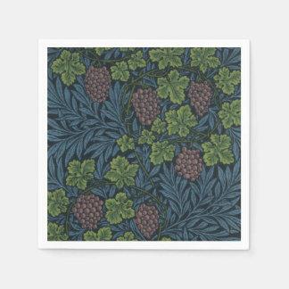 William Morris Vine Wallpaper Design Paper Napkin