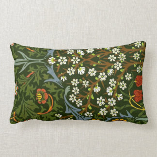 William Morris Vintage Blackthorn Pattern Pillow
