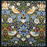 "William Morris vintage design - Strawberry Thief Napkin<br><div class=""desc"">William Morris vintage design,  Strawberry Thief,  printed napkin.  Colorful vintage Morris pattern with birds,  strawberries and flowers.</div>"