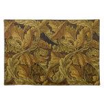 William Morris Vintage Floral Wallpaper Cloth Placemat