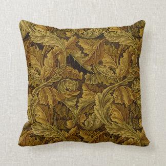 William Morris Vintage Floral Wallpaper Pillow