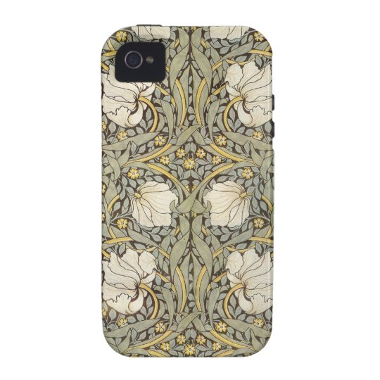 William Morris Vintage Flowers Case-Mate iPhone 4 Case