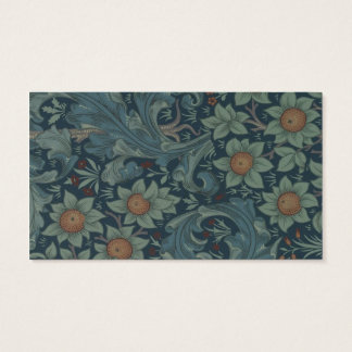 William Morris Vintage Orchard Floral Design Business Card