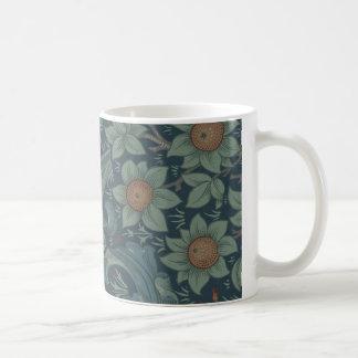 William Morris Vintage Orchard Floral Design Coffee Mug