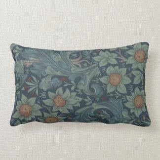 William Morris Vintage Orchard Floral Design Throw Pillow