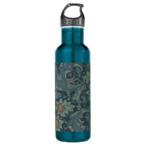 William Morris Vintage Orchard Floral Design Water Bottle
