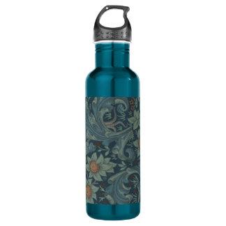 William Morris Vintage Orchard Floral Design Water Bottle