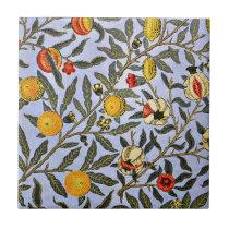 William Morris vintage pattern, Fruit Tile
