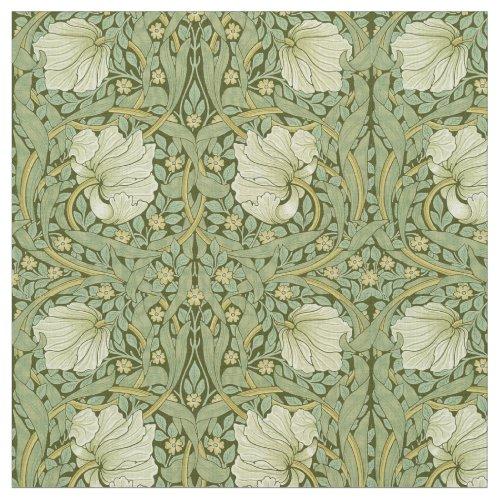 William Morris Vintage Pimpernel Floral Pattern Fabric