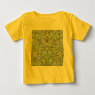 William Morris Vintage Spring thicket Floral Desig Baby T-Shirt