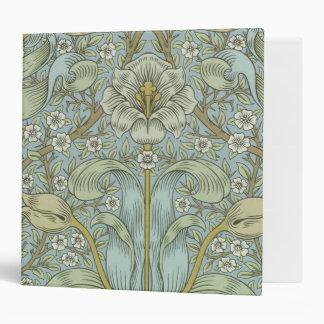 William Morris Vintage Spring thicket Floral Desig Binder