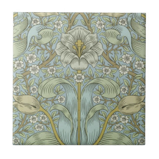 William Morris Vintage Spring thicket Floral Desig Tile