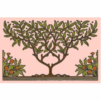William Morris Vintage Tree Floral Design Cutout