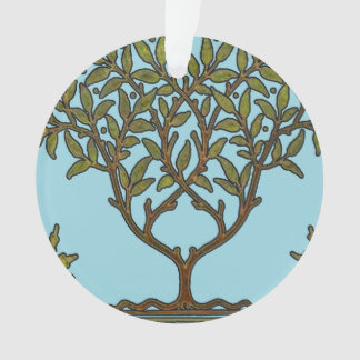 William Morris Vintage Tree Floral Design Ornament
